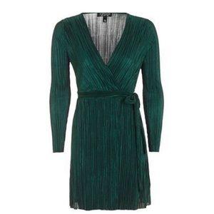 Topshop Teal Dress